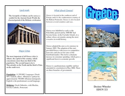 travel brochure assignment Make a brochure using adobe indesign cc set up a layout with columns and images, graphics, and text learn tips and tricks to refine your design, and then prepare it.