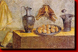 Roman food francine for Ancient roman cuisine