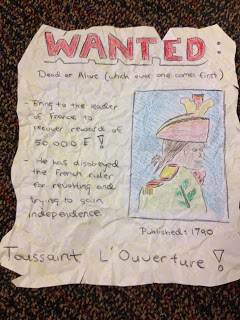 Wanted Poster - Miss Francine's Website 2018-2019